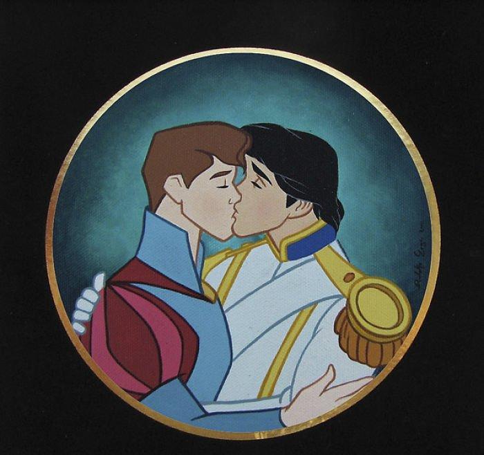 14 62 - 還我美好的童年回憶!當迪士尼卡通人物生活於現代社會中 #19 我不相信白馬王子都是整形來的~(泣)