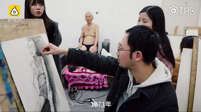 2 163 - 88 Year Old Man Becomes a Nude Model, His Sons Abandon Him
