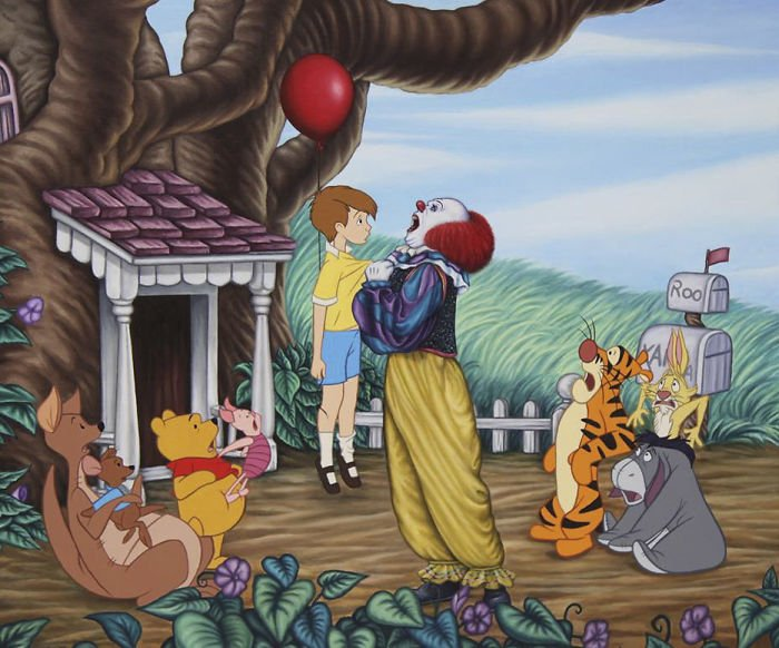 27 22 - 還我美好的童年回憶!當迪士尼卡通人物生活於現代社會中 #19 我不相信白馬王子都是整形來的~(泣)