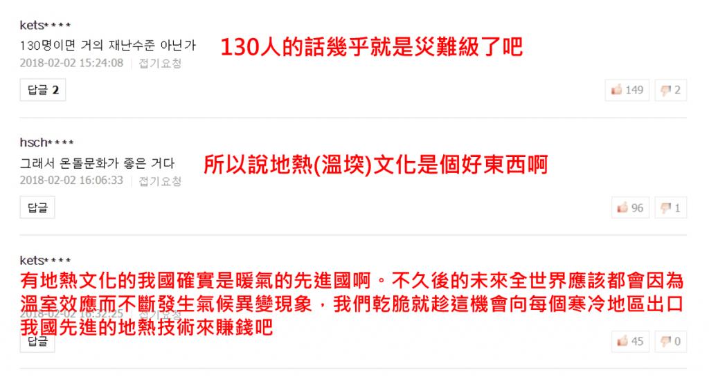 3 8 1024x548 - 臺灣強烈寒流造成百人猝死,災情傳到韓國當地網友反應讓人哭笑不得!