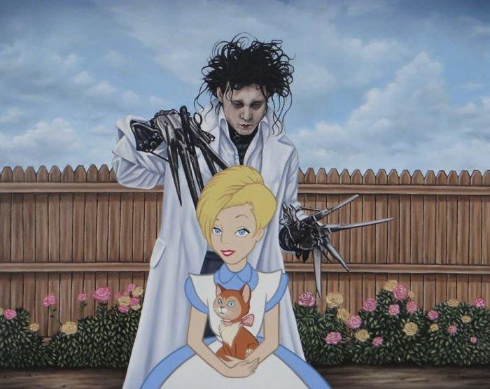 4 383 - 還我美好的童年回憶!當迪士尼卡通人物生活於現代社會中 #19 我不相信白馬王子都是整形來的~(泣)
