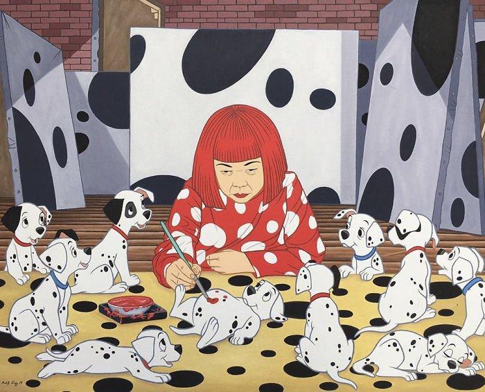 7 191 - 還我美好的童年回憶!當迪士尼卡通人物生活於現代社會中 #19 我不相信白馬王子都是整形來的~(泣)