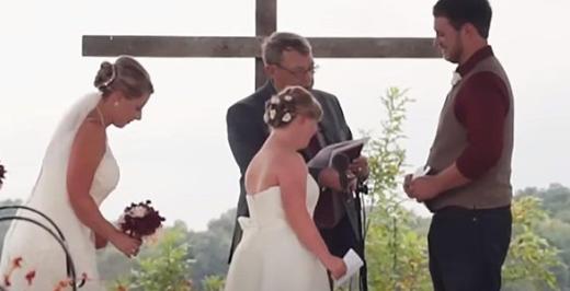 88 - 두 명의 자매 모두를 신부로 맞이한 남자 (영상)