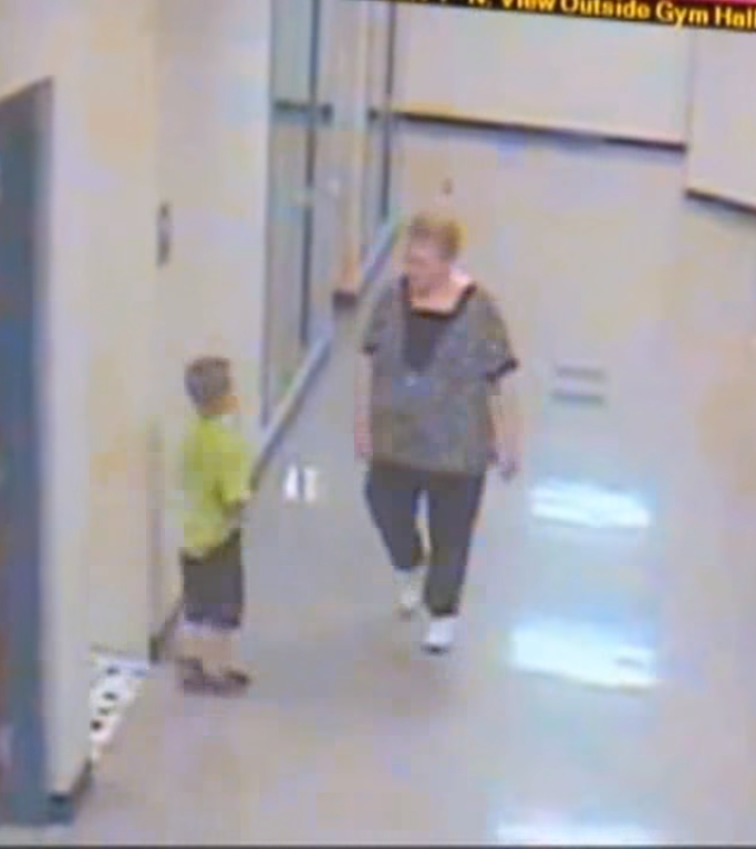 ian2 - Footage Of What Kindergarten Teacher Did To 6-Year-Old. Apparently, She Couldn't Control Her Anger