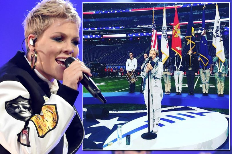 image instagram pink getty - Pink Struggles To Get Voice Back As She Fights Influenza One Day Prior To Super Bowl Anthem Performance