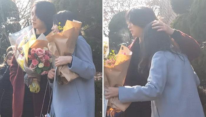 img 5a7beafd44172 - 의리의 김희철, IOI 김소혜 졸업식에 깜짝 등장!