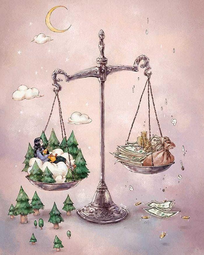 img 5a83ac09e59c2 - 韓國藝術家畫下「單身&寵物」的獨居生活,網民驚嘆「原來是幸福!」