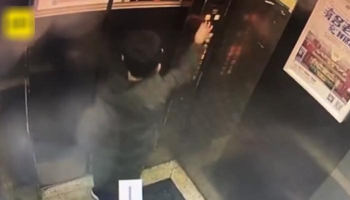 113 - Garoto tenta fazer uma pegadinha ao fazer xixi nos botões de um elevador, mas acaba ficando preso nele! (vídeo)
