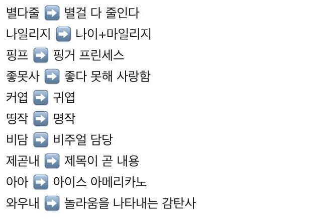 """4 16 - """"렬루 이생망..롬곡옾눞..."""" 2018년 '신조어' 모음"""