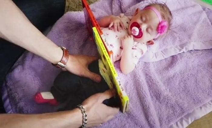 4 53 - Man Cuts Baby Daughter in Half with Magic Trick (video)