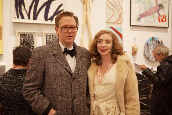 John Currin and Rachel Feinstein. Photo by John Houck.