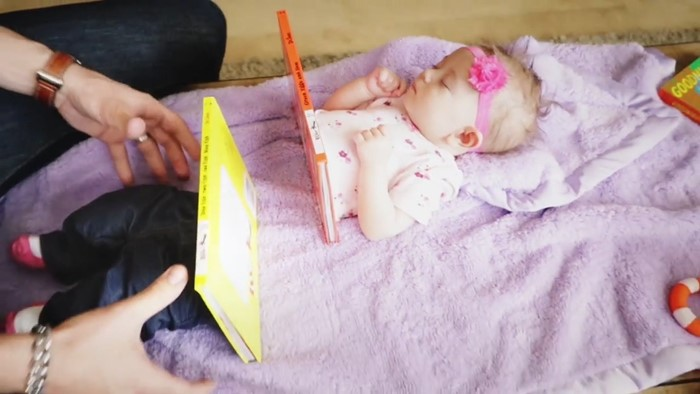 7 35 - Man Cuts Baby Daughter in Half with Magic Trick (video)