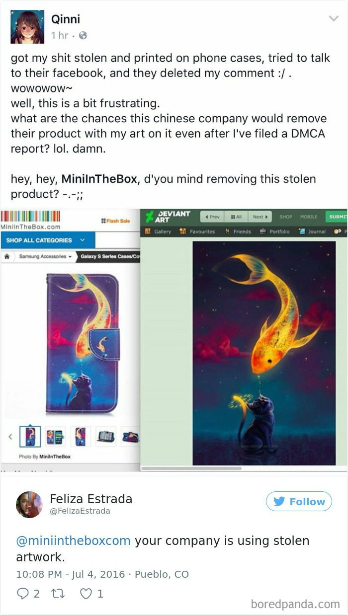 750089009284517888 png  700 - Artists Catch Top Notch Companies Copying Their Artwork And Selling It Without Crediting Them