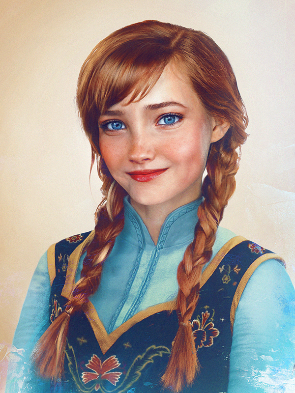 art14 - Feast Your Eyes on Some of Your Favorite Disney Princesses Re-imagined As Real Life People