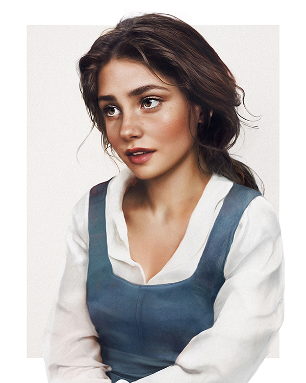 art3 - Feast Your Eyes on Some of Your Favorite Disney Princesses Re-imagined As Real Life People