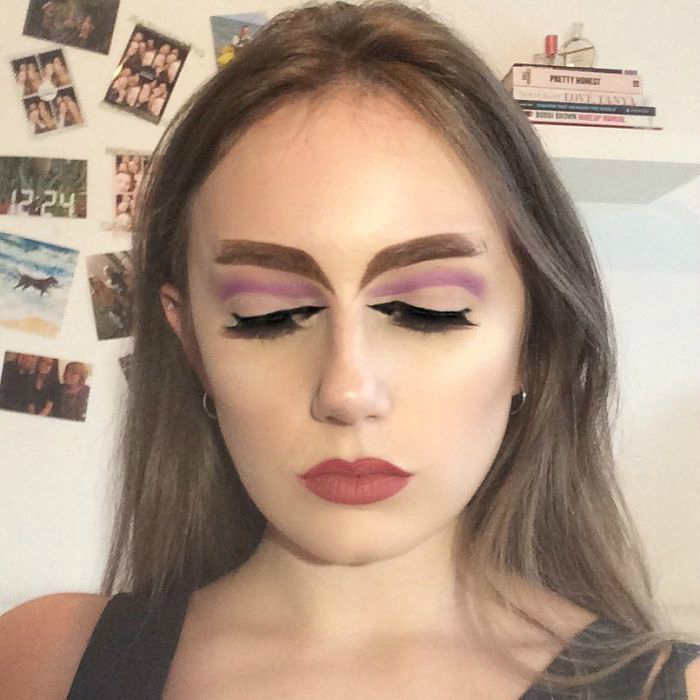 bzhhyyphrif png  700 - 16-Year-Old Beauty Blogger Creates New Trend With Halo Brow