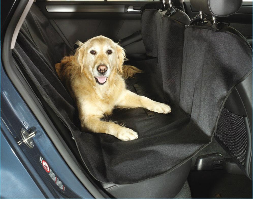 free logo adding pet hammock dog car - 16 Life-saving Car Hacks For Your Unplanned Road Trip
