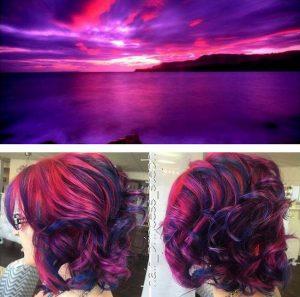 """galaxy hair 13 300x297 - """"Galaxy Hair"""": Cabelos com cores inspiradas na galáxia são a nova tendência"""