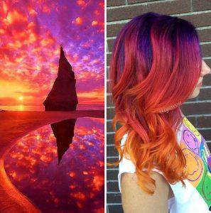 """galaxy hair 2 297x300 - """"Galaxy Hair"""": Cabelos com cores inspiradas na galáxia são a nova tendência"""
