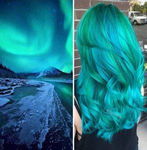 """galaxy hair 3 295x300 - """"Galaxy Hair"""": Cabelos com cores inspiradas na galáxia são a nova tendência"""