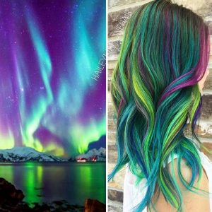 """galaxy hair 6 300x300 - """"Galaxy Hair"""": Cabelos com cores inspiradas na galáxia são a nova tendência"""