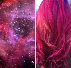 """galaxy hair 8 300x291 - """"Galaxy Hair"""": Cabelos com cores inspiradas na galáxia são a nova tendência"""