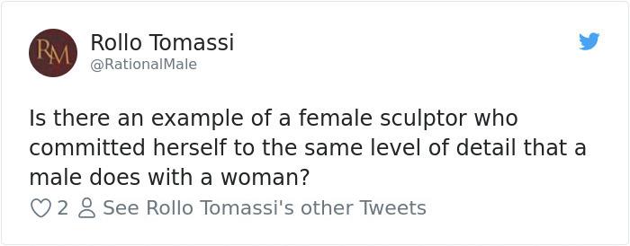 guy mocking sculpture chinese artist luo li rong 5a9d49279726e  700 - Un usager prétend sur Twitter que seul un homme est capable d'une telle sculpture. Sauf que l'artiste est une femme.