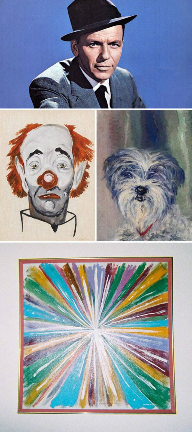 img 5aa720f23b08e - ¿Podías imaginarte que estas celebridades sabían pintar? Aquí te mostraremos sus increíbles obras.