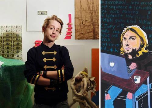 img 5aa7212aaf370 - ¿Podías imaginarte que estas celebridades sabían pintar? Aquí te mostraremos sus increíbles obras.