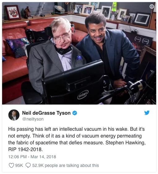 img 5aa936eeb418e - Murió Stephen Hawking a sus 76 años y así lo homenajearon en las redes