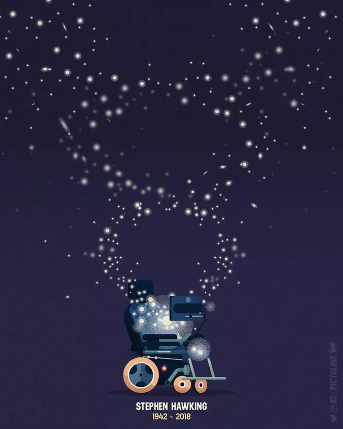 img 5aa937312cdc6 - Murió Stephen Hawking a sus 76 años y así lo homenajearon en las redes