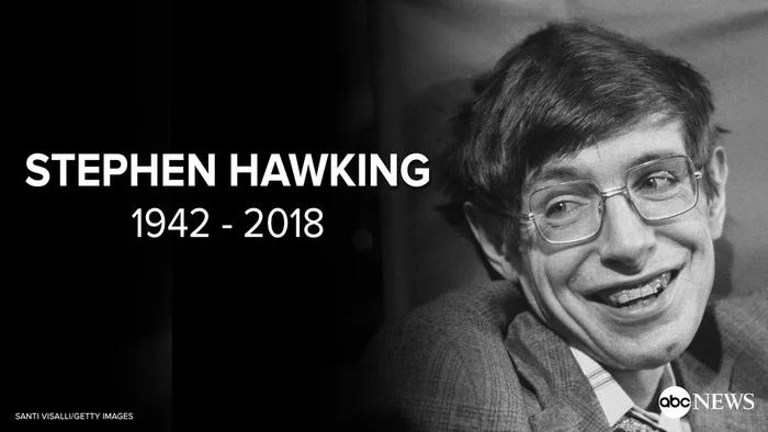 img 5aa9374e6d3a1 - Murió Stephen Hawking a sus 76 años y así lo homenajearon en las redes