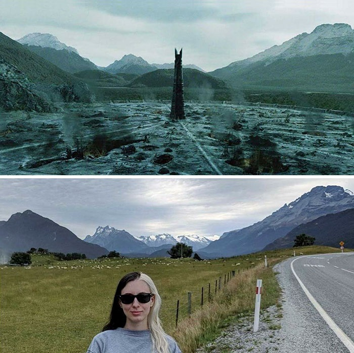 lord - She Visited Almost All Of The Lord Of The Rings Filming Locations And Recreated Some of The Scenes