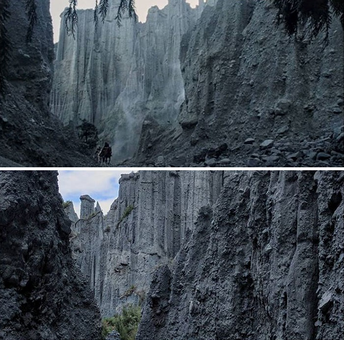lord2 - She Visited Almost All Of The Lord Of The Rings Filming Locations And Recreated Some of The Scenes