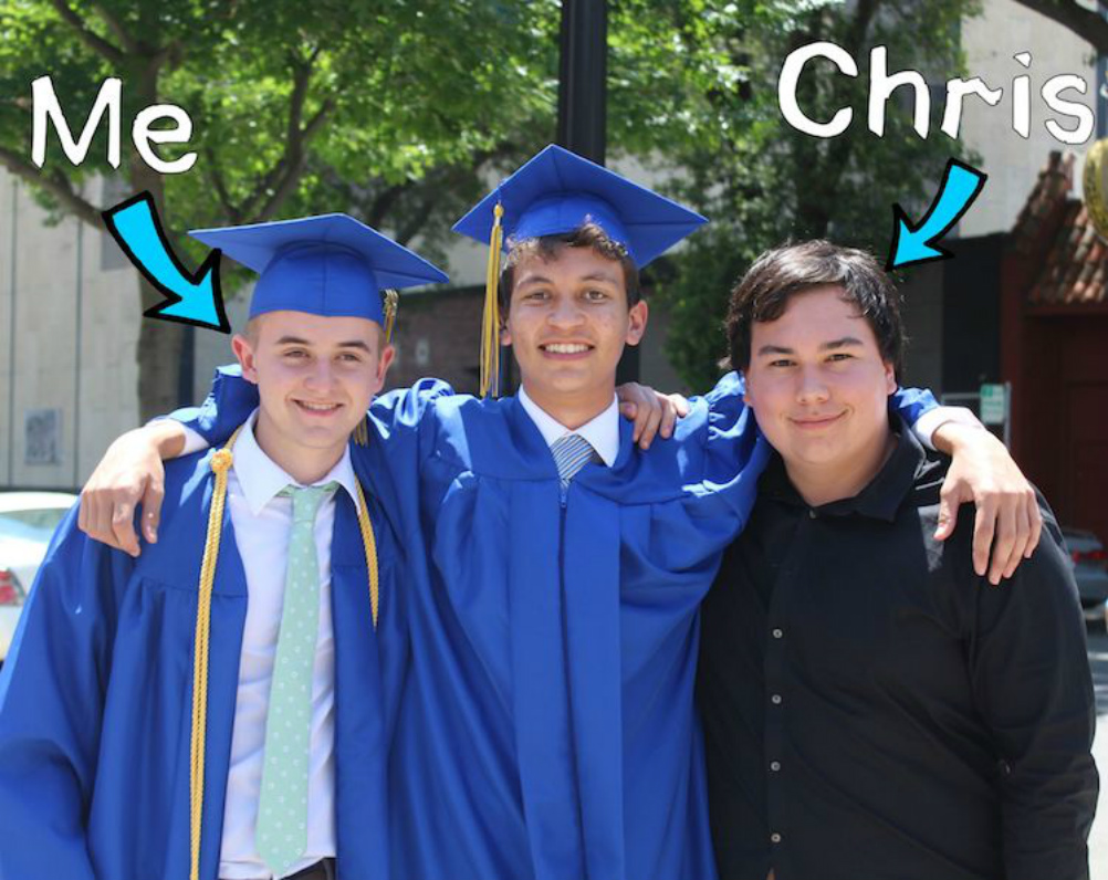 me chris 1 - 19-Year-Old Drops College To Help His Dying Friend Pursue His 127-Wishlist