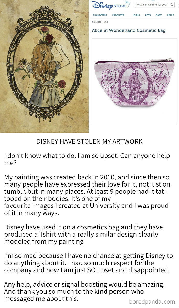 people caught copying plagiarism stealing art knockoffs 27 59bf74beb2a7c  700 - Artists Catch Top Notch Companies Copying Their Artwork And Selling It Without Crediting Them