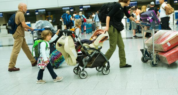 women3 - Women Gather Form a Circle around a Weeping Mom at the Airport When Toddler Goes into a Meltdown