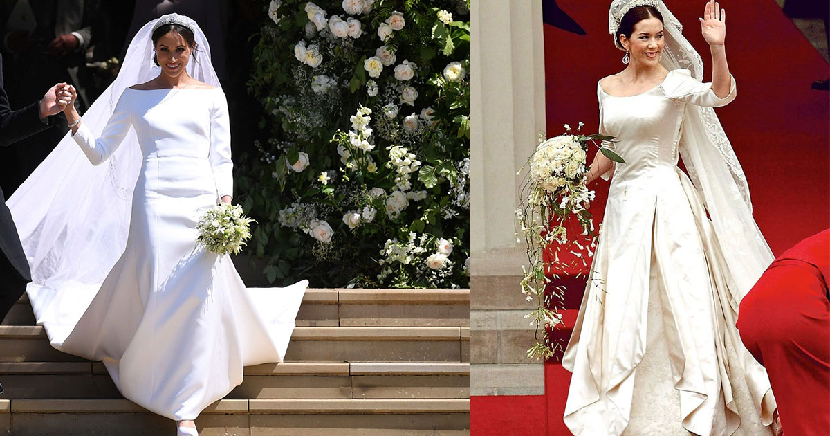 Allison Langdon Accuses Meghan Markle For Copying Wedding Dress ...