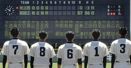 「高校野球 コールドゲーム」の画像検索結果