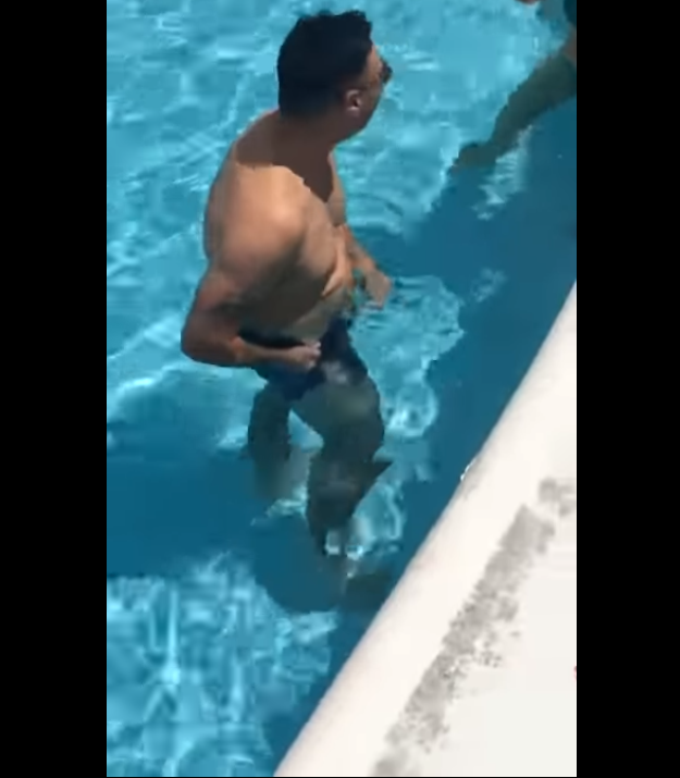 ab045d438e Hilarious Prank Shows A Guy Wearing Dissolving Swim Shorts Given By ...