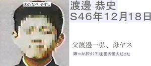「渡邊恭史 現在」の画像検索結果