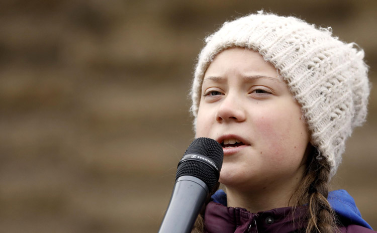 Image result for Greta Thunberg 750