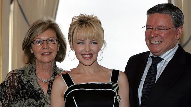 Resultado de imagen de Kylie Minogue family