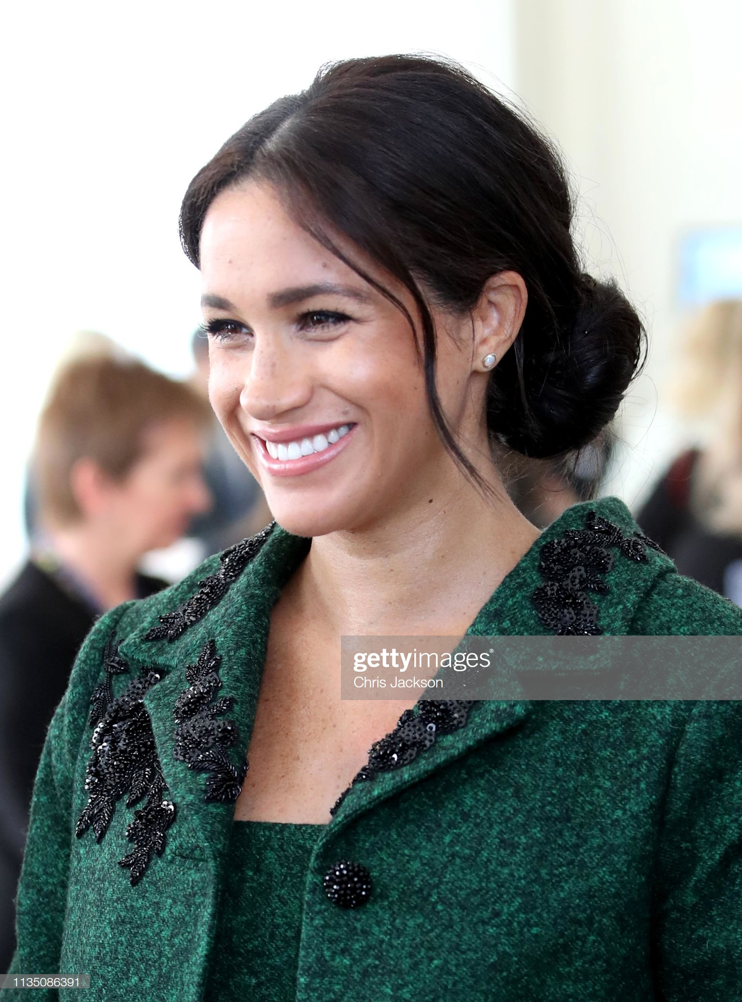 The Duke And Duchess Of Sussex Attend A Commonwealth Day Youth Event At Canada House : Fotografía de noticias
