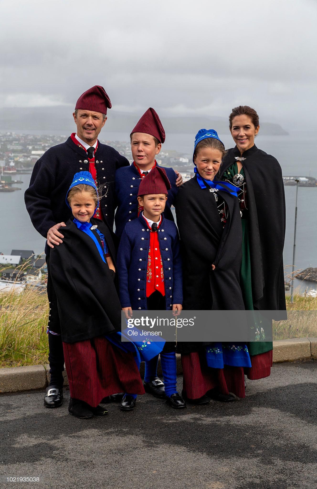 Danish Royal Family Visit The Faroe Islands In The North Atlantic : Fotografía de noticias