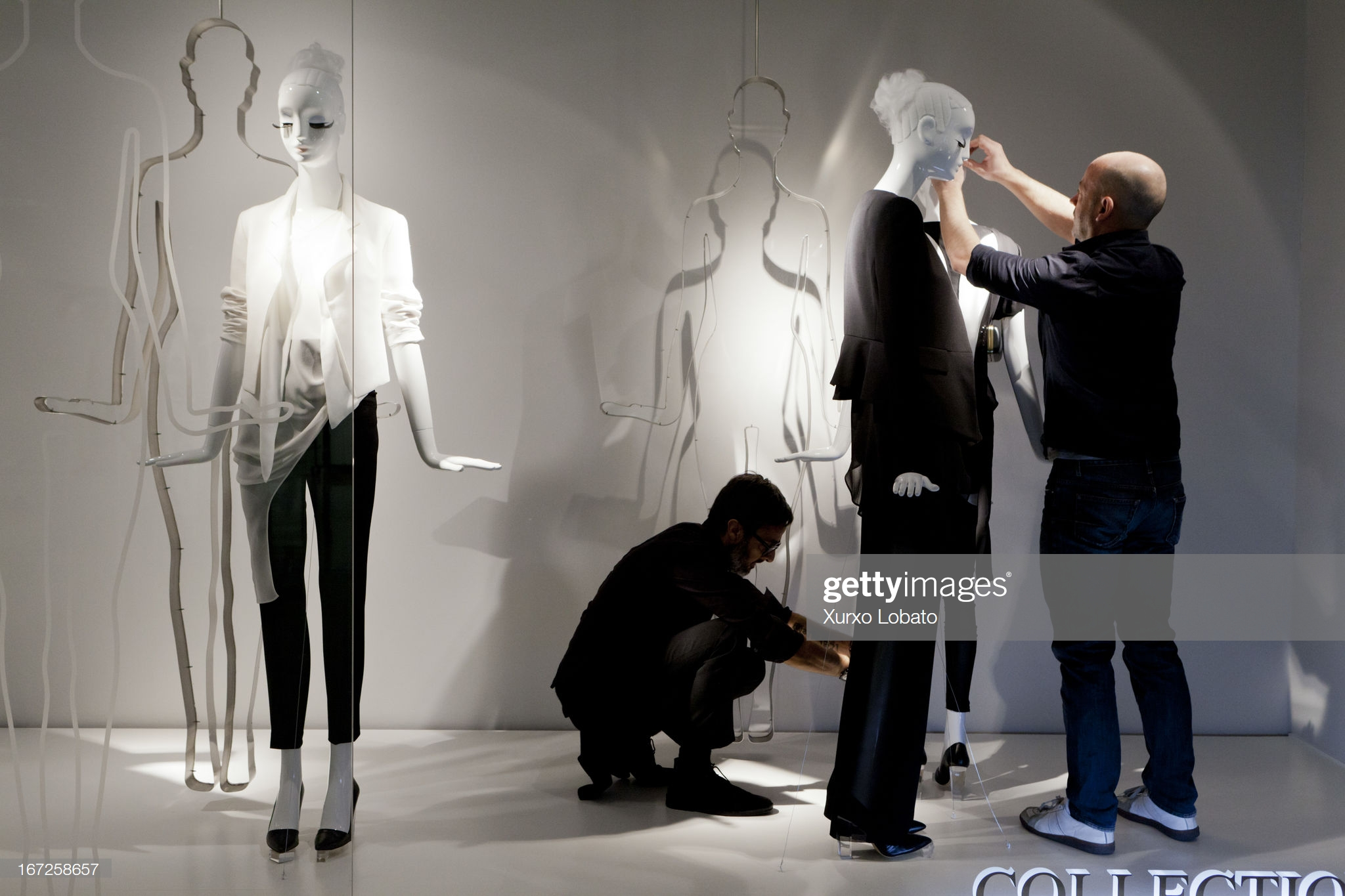 Inside The Headquarters of Zara : Fotografía de noticias
