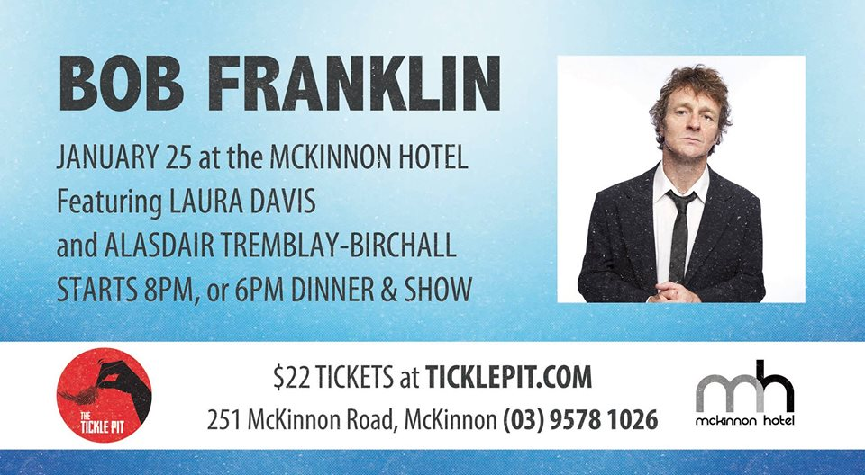 Permalink to: Book Now for McKinnon Comedy