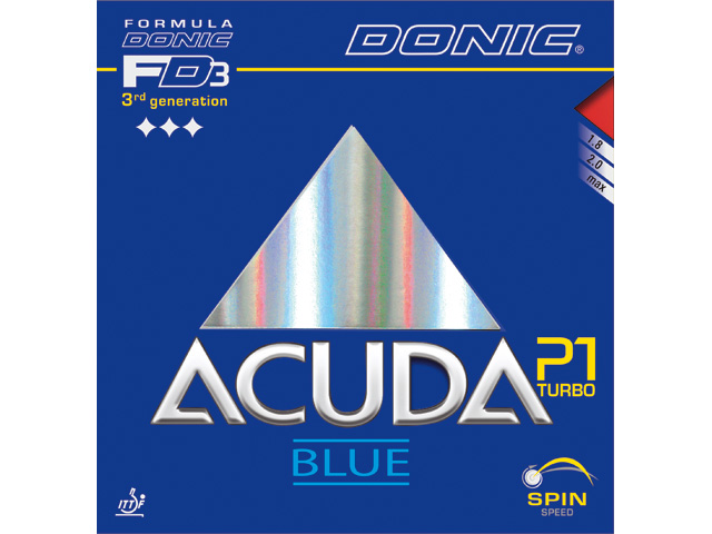 DONIC Acuda P1 Blue Turbo