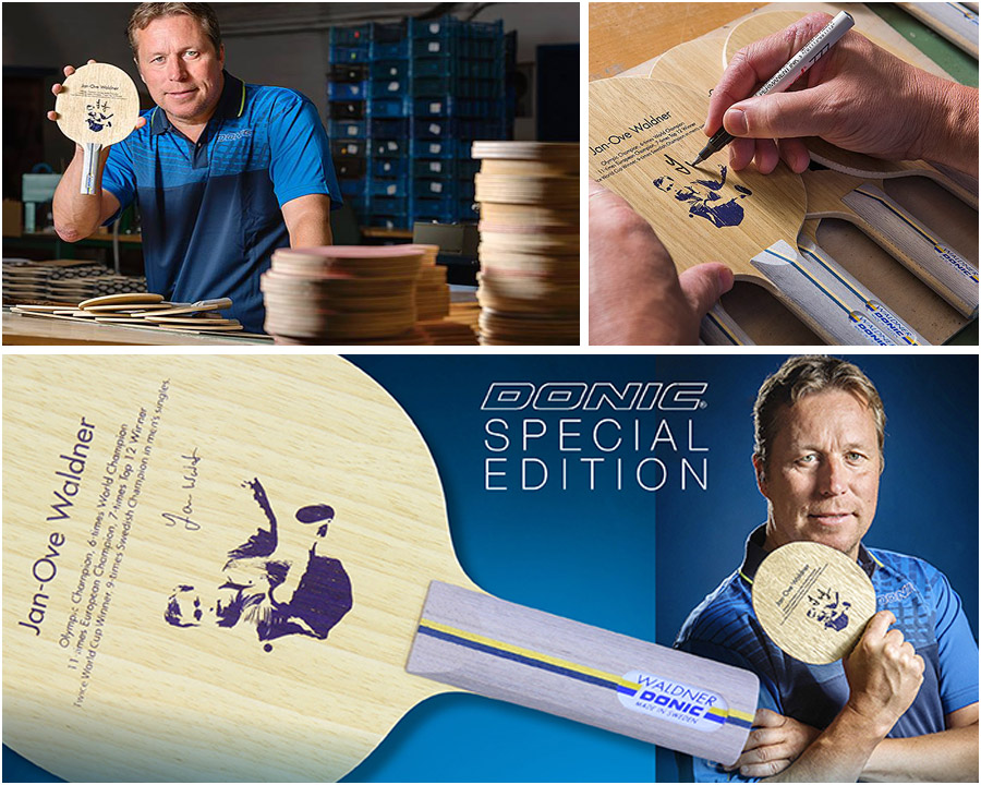 DONIC Waldner Offensive 2016 Special Edition