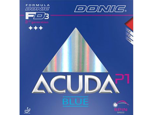 DONIC Acuda Blue P1 rot 1.8 mm